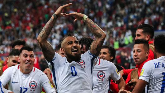 Чили побеждает Португалию в последнем матче Кубка конфедераций на «Казань Арене»