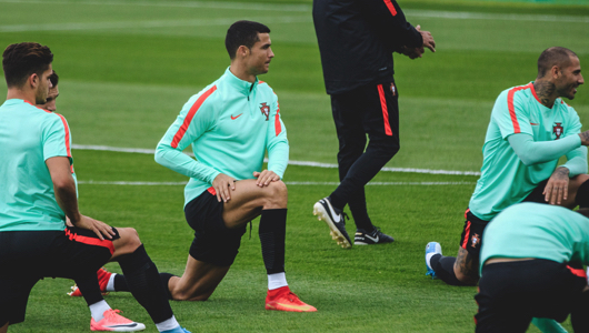 Роналду и сборная Португалии вернулись в Соцгород