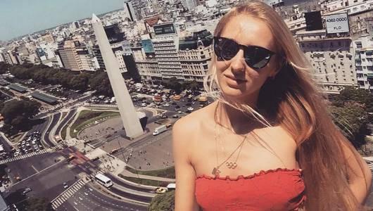 Девушка дня. Российская фехтовальщица Виолетта Колобова