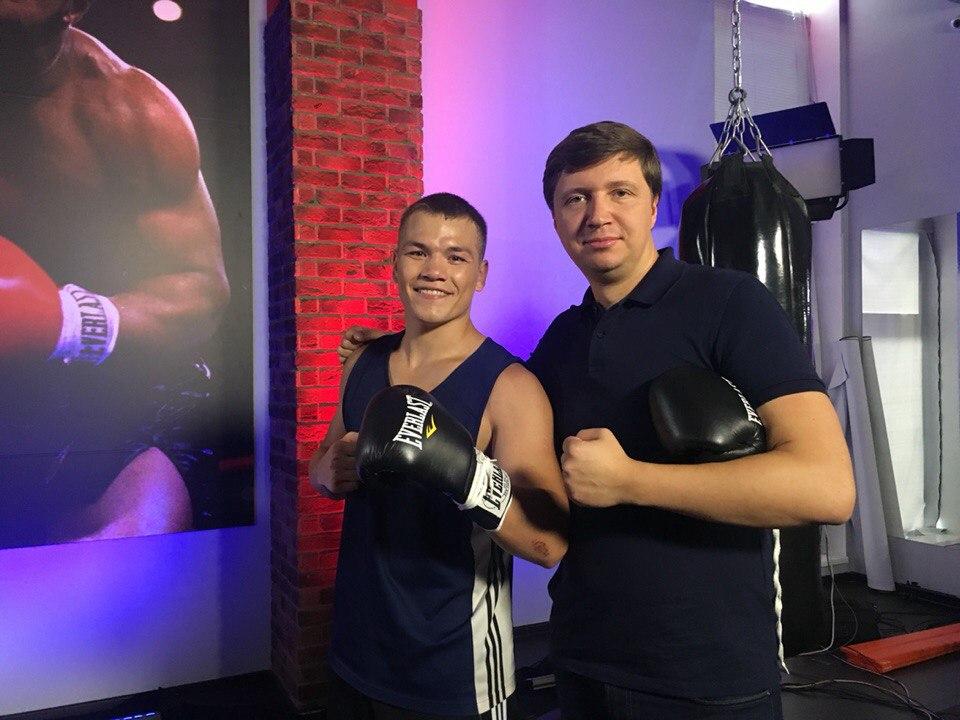 Лучников и Фёдор Чудинов. Фото: из личного архива