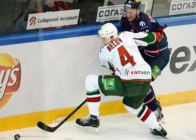 Николай Белов в Ак Барсе