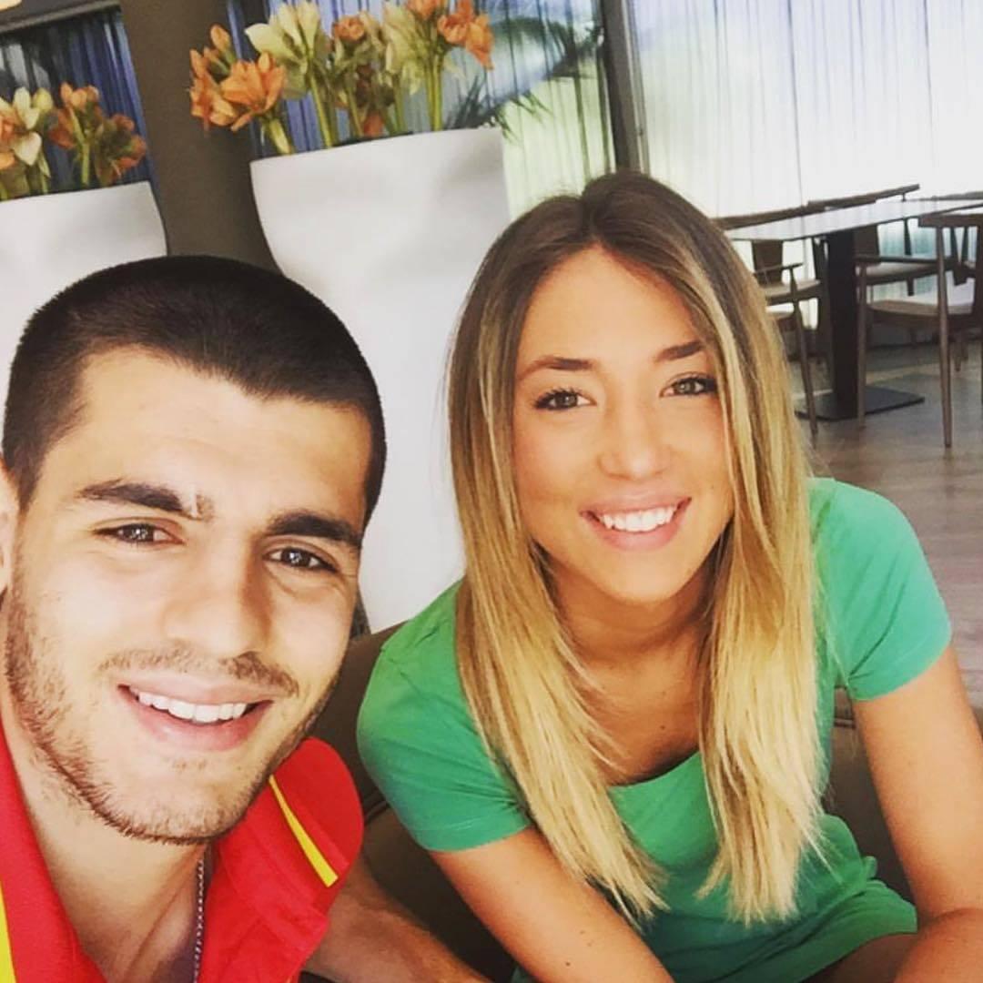 Альваро Мората И Его Девушка