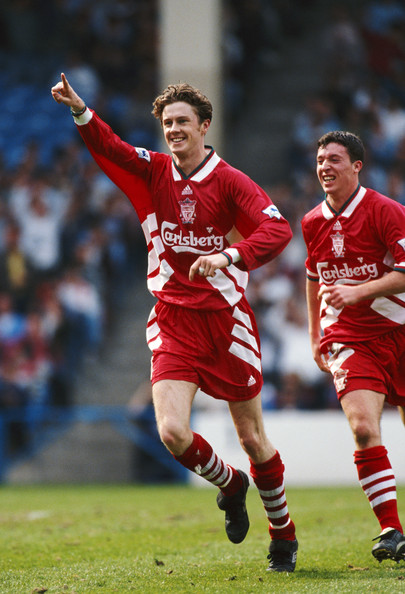 Manchester City and Liverpool at Maine Road on April 14, 1995 in Manchester, England .jpg