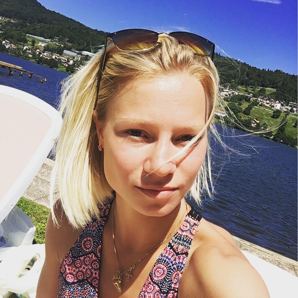 Classify beautiful East Baltic girl