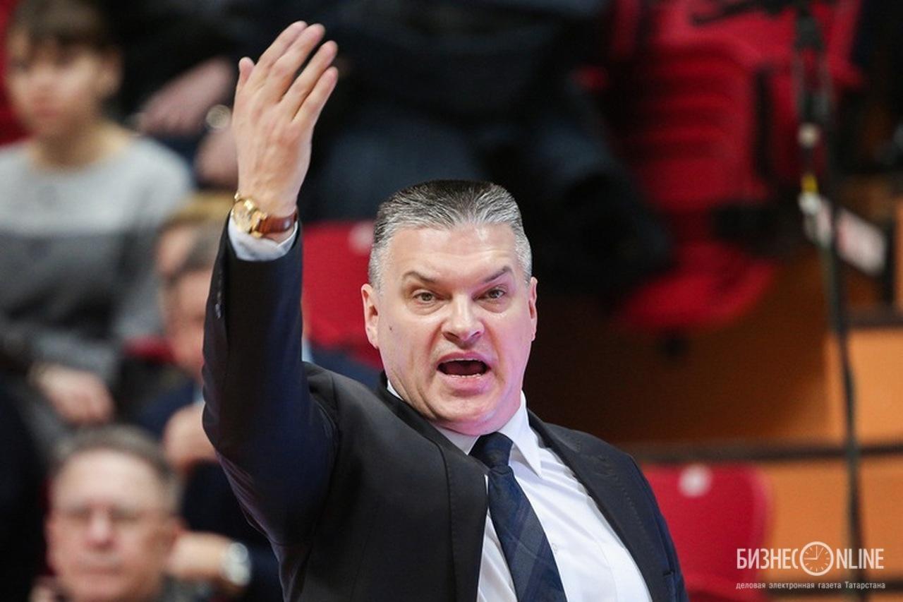 «Мы должны показать командный баскетбол», – сказал Евгений Пашутин перед матчем