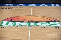 Логотип УНИКСа в центре площадки по какой-то причине претерпел изменения