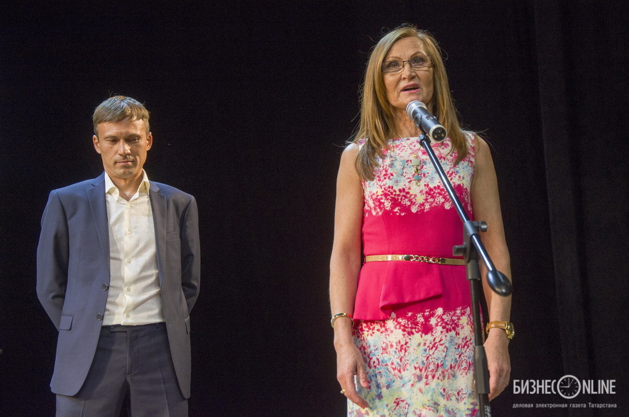 Фирая Султанова-Жданова и Артём Мастров