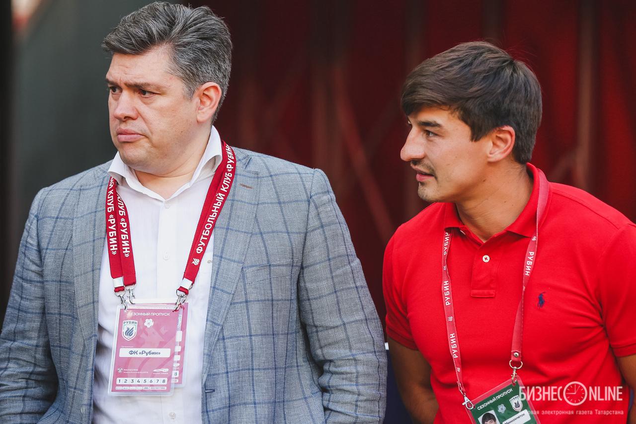 Рустам Саяхов и Радик Миннахметов
