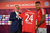 10. Корентин Толиссо («Лион» – «Бавария»), 41,5 млн евро (здесь и далее – по данным Transfermarkt.com)