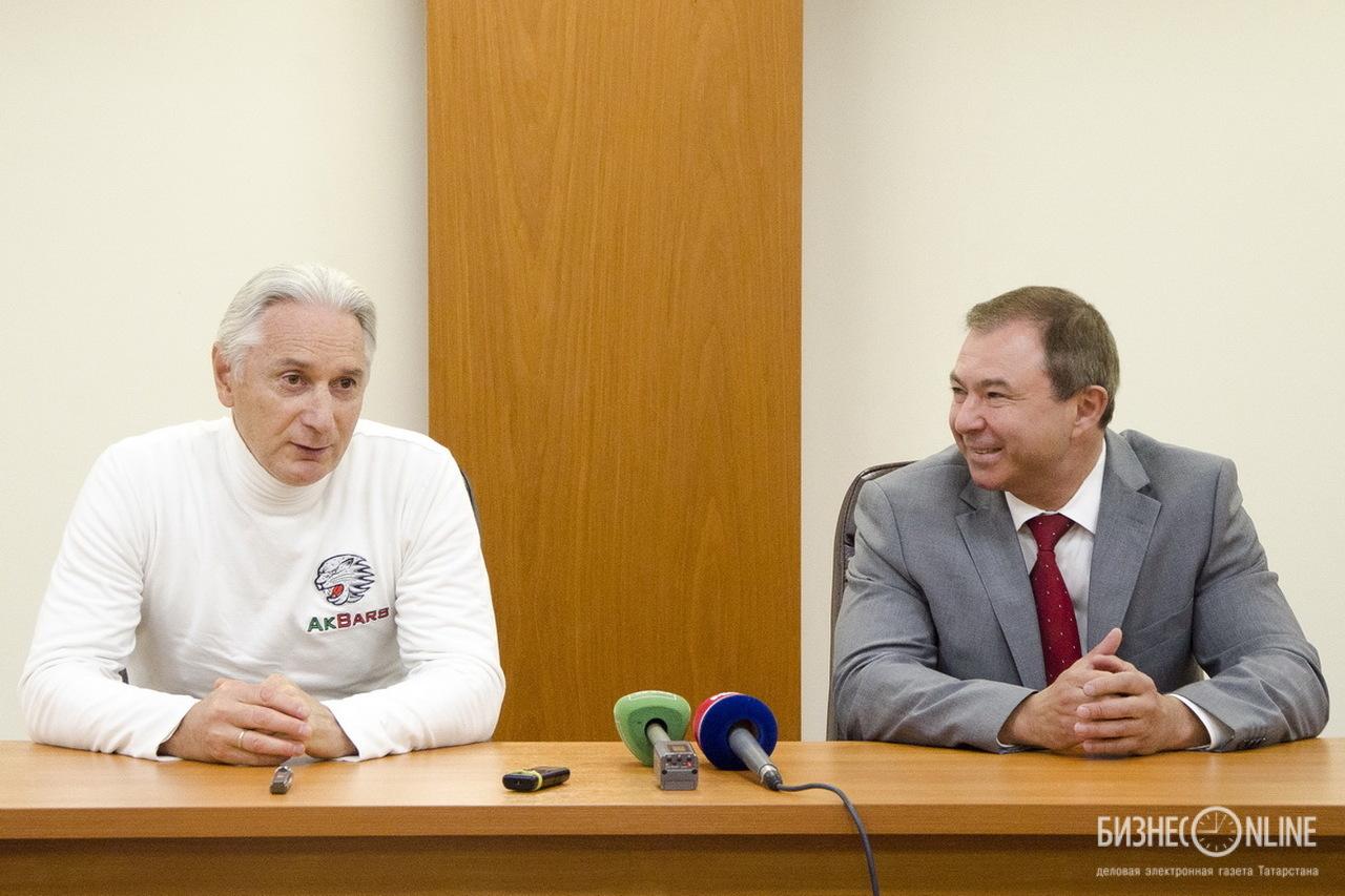 Зинэтула Билялетдинов и Шамил Хуснутдинов