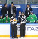 Эркка Вестерлунд с судьями